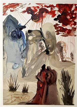 Dali Purgatory Canto 28 The Divine Comedy
