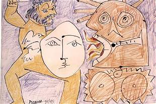 Pablo Picasso Untitled