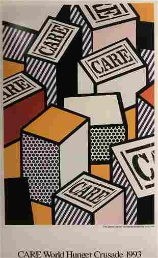 Roy Lichtenstein CARE World Hunger Crusade