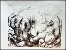Pablo Picasso - Violacion V