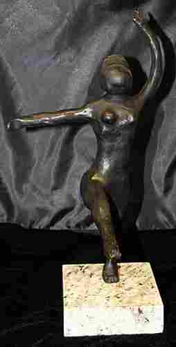 Signed Limited Edition Bronze Degas