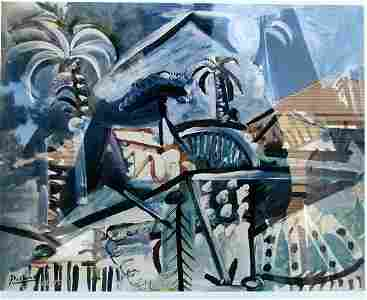 Landscape - Pablo Picasso - Lithograph