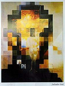 """Print """"Lincoln in Dali Vision"""" Salvador Dali"""