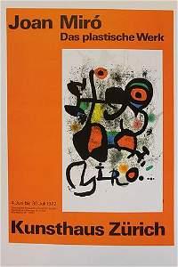 Joan Miro -  Das Plastische Werk
