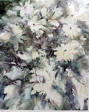 Bridal Bouquet Zoe Mac Lithograph