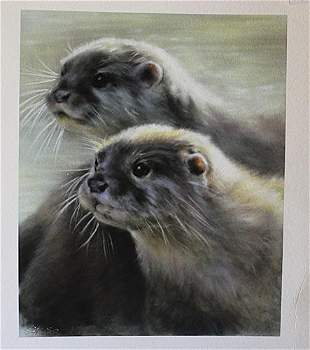 Otters Vivien Walters