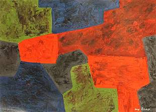 Composition V Serge Poliakoff In the style of Oil
