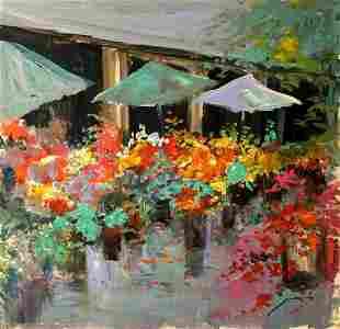 Michael Schofield - Original Painting On Board 8
