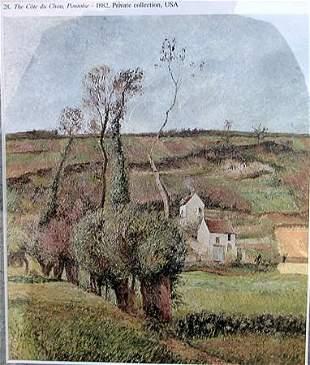 La Cote de Chou a Pontoise Camille Pissarro