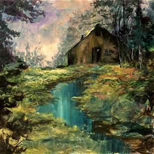 Michael Schofield Original Painting On Board 19