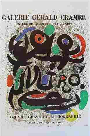 Joan Miro Galerie Gerald Cramer