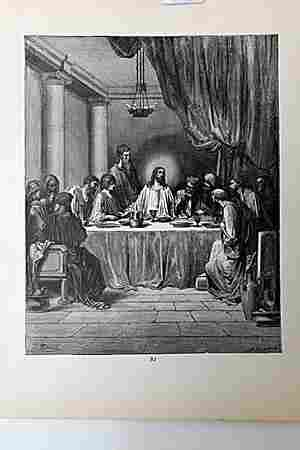 The Dore Bible Gallery The Last Supper
