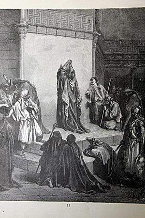 The Dore Bible Gallery David Mouring over Absalom