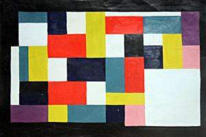 Composition Oil Painting in the style of Theo Van