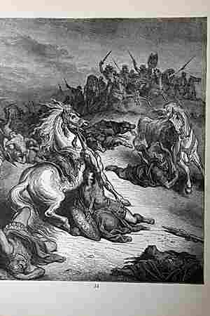 The Dore Bible Gallery Death of Saul