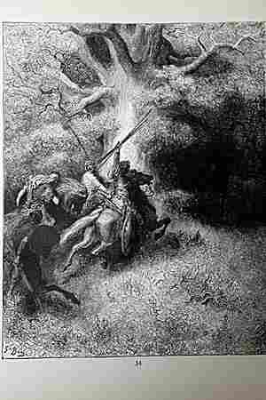 The Dore Bible Gallery The Death of Absalom