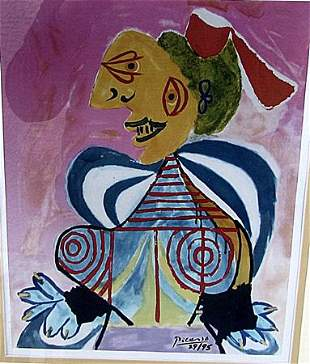 LAlesienne Pablo Picasso Lithograph