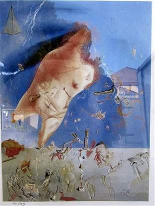 Little Ashes Salvador Dali Lithograph