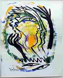 Original Breeze Feel Oil Painting William Verdult