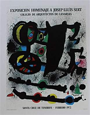 Joan Miro Exposicion Homenaje A JosepLluis