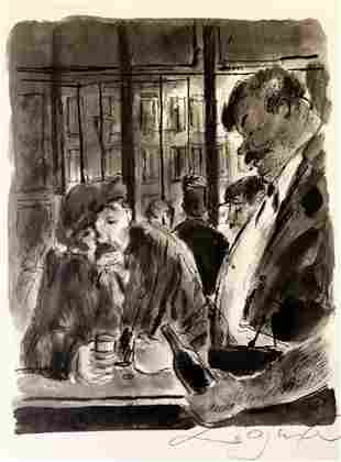 Drinks at the Bar Lynton Harold Lamb