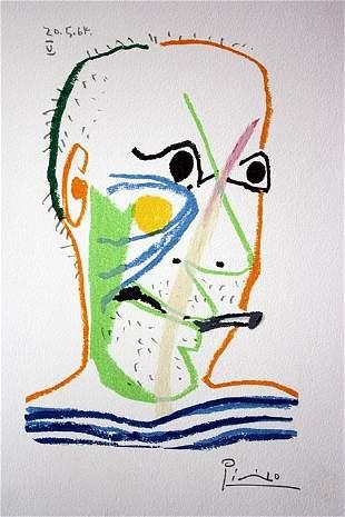 Pablo Picasso Le Gout Du Bonheur V