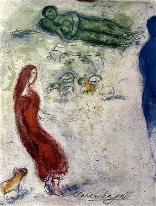 Marc Chagall Chloes Judgement I