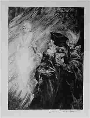 Louis Icart Maiden in the Mist