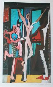 Three Dancers by Pablo Picasso