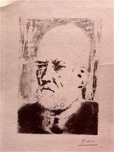 Pablo Picasso - Retrato De Vollard, II
