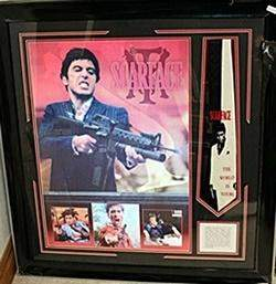 Al Pacino In Scarface with History of the Film AR5706