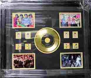 Memorabilia Beatles Record with Stamp