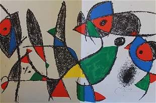 Joan Miro Maeght Publisher 1975