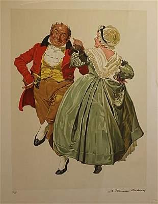 Dancing Partner Rockwell Norman
