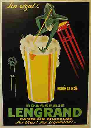 Brasserie Lengrand By G Piana Beer Frog