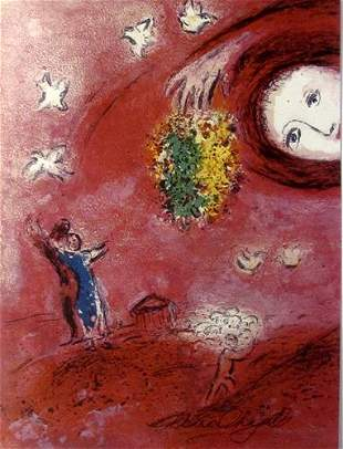 Marc Chagall Springtime in the Meadow II