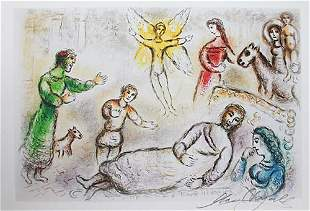 Marc Chagall Peace Rediscovered