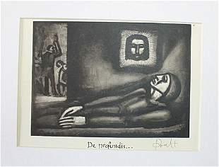 Rouault Georges De profundis