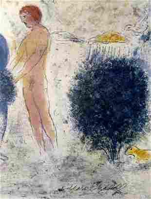Marc Chagall Chloes Judgement II