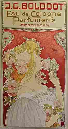 JC Boldoot Eau de Cologne by Henri Privat Livemont