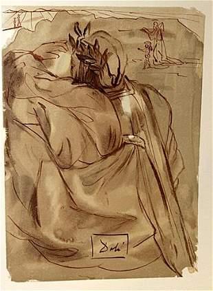 Dali Purgatory Canto 30 The Divine Comedy