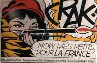 Roy Lichtenstein Crak Now Mes PetitsPour La