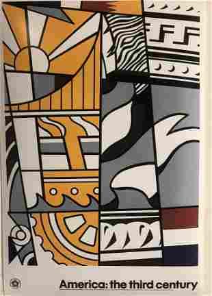 Roy Lichtenstein Bicentennial Print