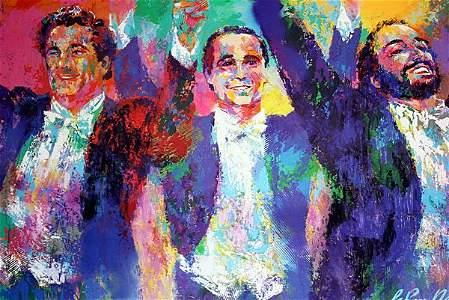 Leroy Neiman  - The Three Tenors.