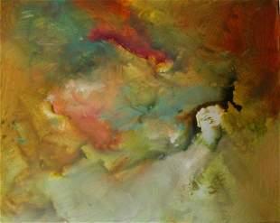 Original Oil on Canvas Michael Schofield Colorfield