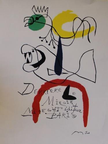 Joan Miro - Derrier Miroir Paris