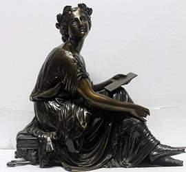 Bronze Sculpture Signed Moreau