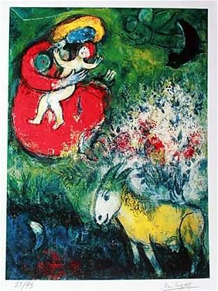 Marc Chagall Mutter und Kind