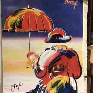 Peter Max - Umbrella Man