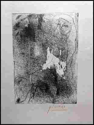 Pablo Picasso Cabezas Y Figuras